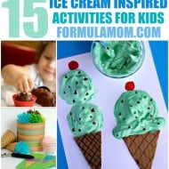 Ice Cream Activities for Kids! Perfect for Summer!