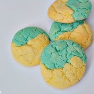 Disney/Pixar's Inside Out Inspired Blue Raspberry Lemonade Cookies