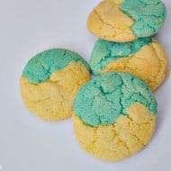 Disney/Pixar's Inside Out Inspired Blue Raspberry Lemonade Cookies