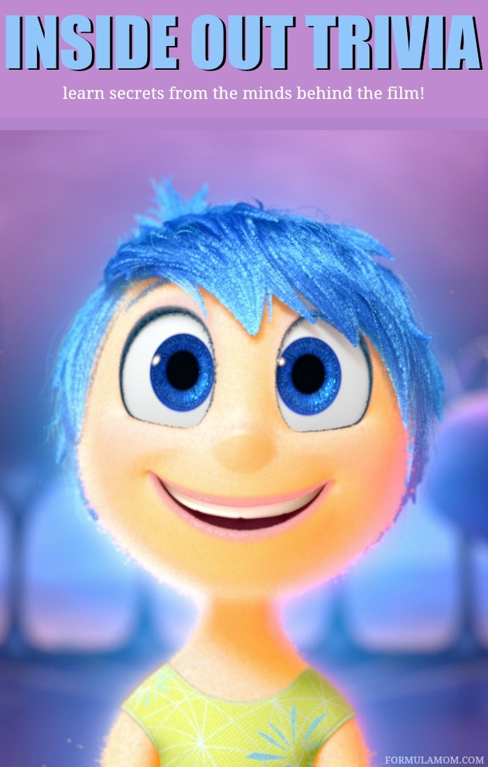 Disney Pixar's Inside Out hits theaters on June 19th! Learn some Inside Out Trivia straight from the movie's director and producer!
