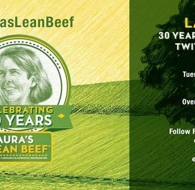 Join the #LaurasLeanBeef Twitter Party on 6/30