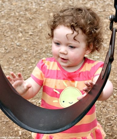 Check out these simple playground safety tips for kids and keep them safe on the swings!