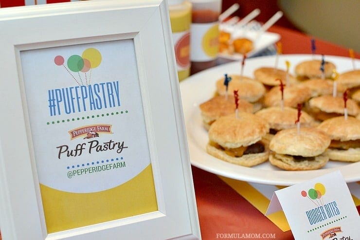 Planning a birthday party? Check out these Easy Birthday Party Ideas. Simple decor and delicious puff pastry recipes, your next party will be a hit!
