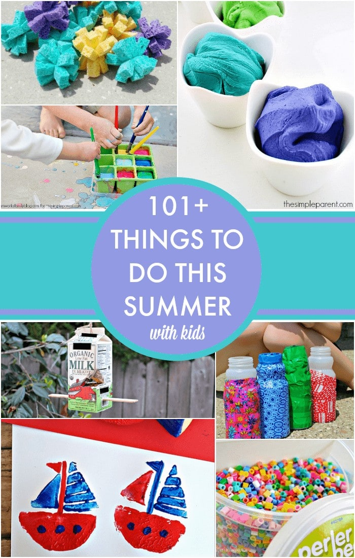 Need something to do with the kids this summer? Check out this summer bucket list for kids! 101+ things to do with kids this summer! 101+ activities for kids to keep them busy!
