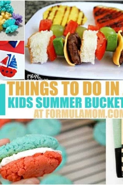 Looking for things to do with the kids this summer? Check out our Summer Bucket List for Kids and get started with these 31 ideas for July!