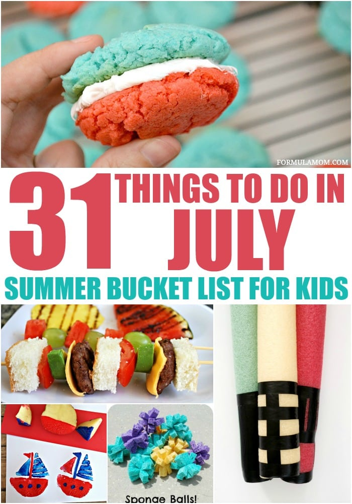 31 Things Your Kids Should Be Doing >> Summer Bucket List For Kids 31 Things To Do In July The Simple Parent