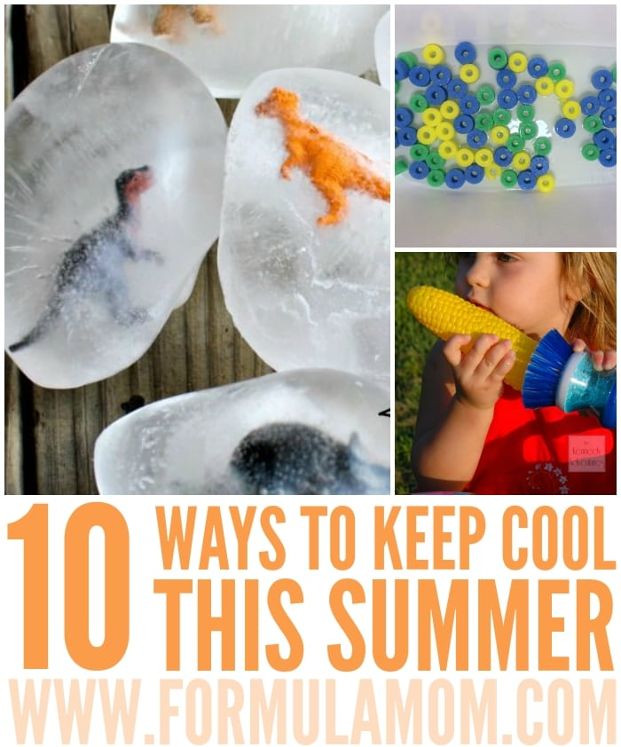 Check out these fun ways to stay cool this summer! Great family fun activities and summer bucket list ideas!