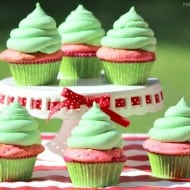 Make Watermelon Cupcakes