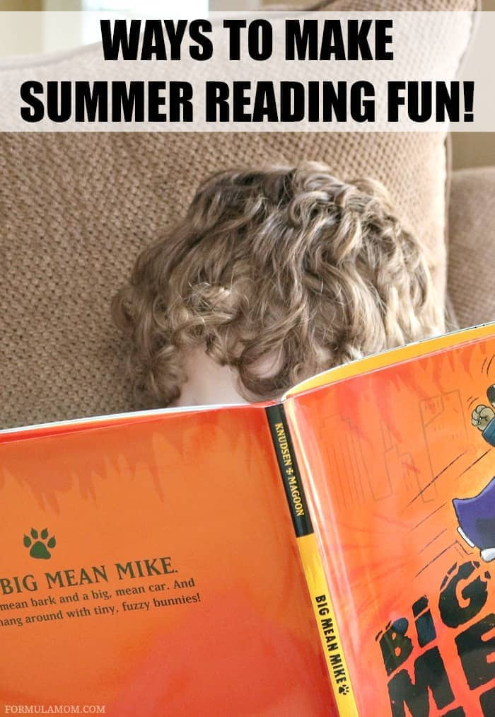 Summer is here and it's a great time to build a love for reading! Check out these easy ways to make summer reading fun! These are great reading tips for kids!