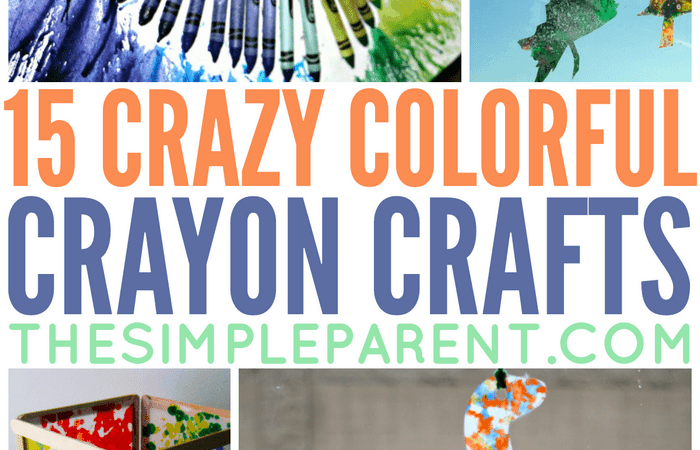 15 Crayon Crafts to Make (Do More Than Color!)