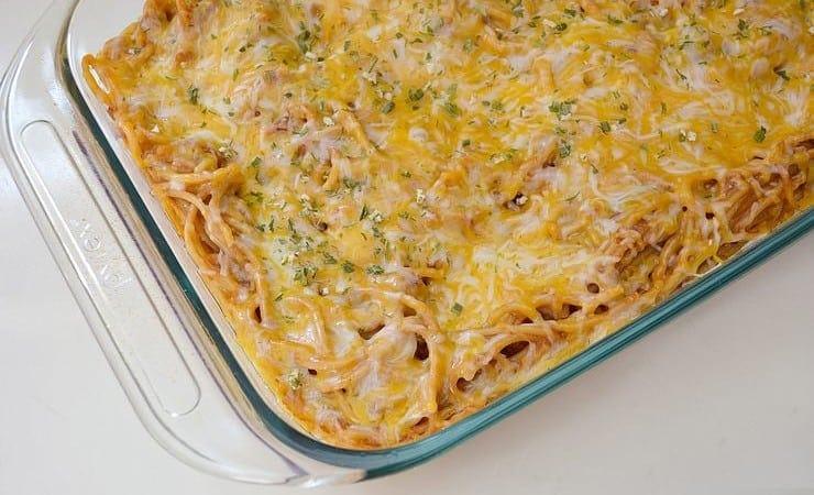 BBQ Spaghetti Bake Recipe