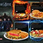 "Denny's Fantastic Four Sweepstakes and ""Slamtastic 4″ Superhero Menu"