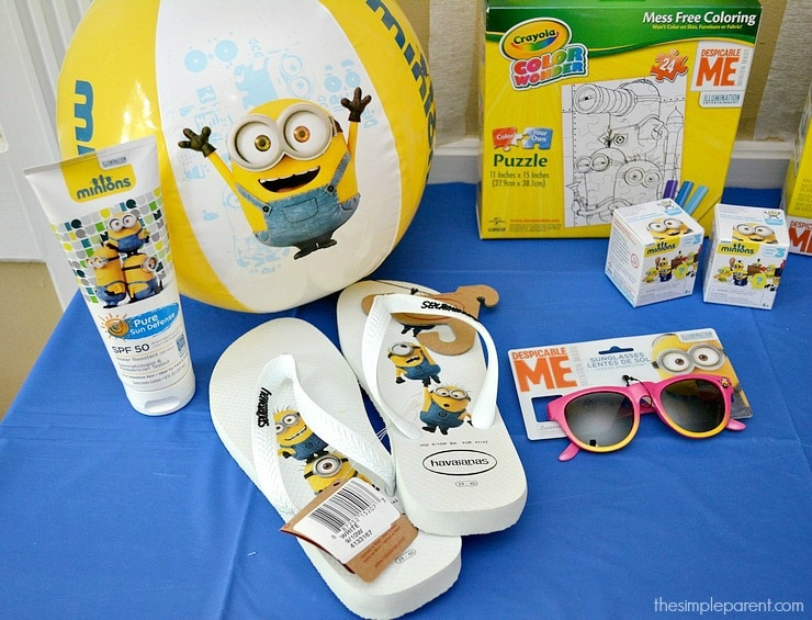 Throw a crazy Minions or Despicable Me party with these Easy Minions Party Ideas!