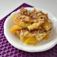 Easy Peach Cobbler Cake
