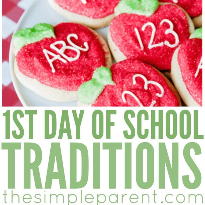 Looking for First Day of School traditions to start with your children? Check out these fun back to school ideas and start making memories this year!