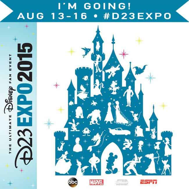 Headed to the D23 Expo 2015 in Anaheim, Calirfornia to learn all about what Disney has in store for us!