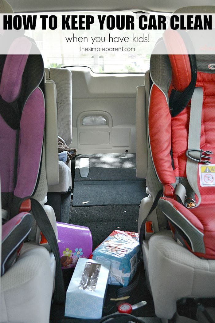How To Keep My Car Clean With Kids The Simple Parent