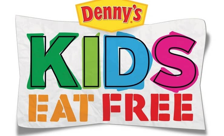 Kids Eat Free at Denny's!