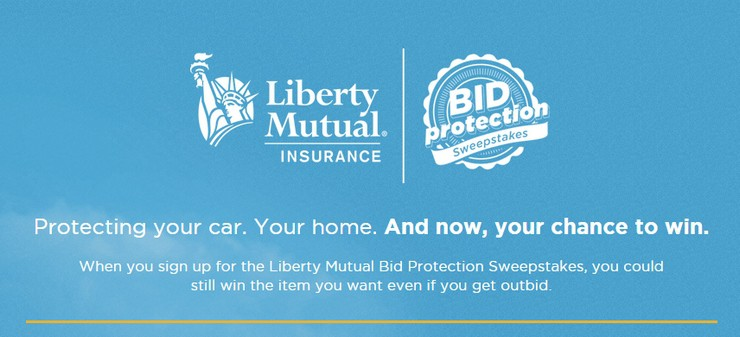 2nd Chance to Win on Ebay with Liberty Mutual Insurance