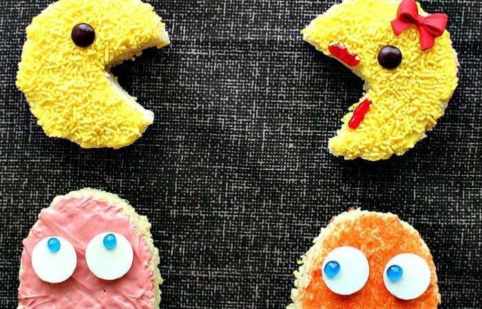 Pixels Movie Inspired Pac-Man Crispy Rice Treats