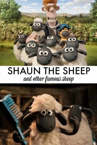 Shaun the Sheep joins the ranks of other famous sheep in history when the Shaun the Sheep Movie opens on 8/5! Take your kids (ages 4-10) to see Shaun make his big screen debut!