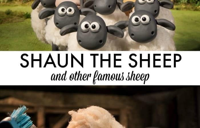 Shaun the Sheep and Other Famous Sheep In History