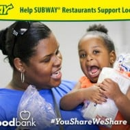 "SUBWAY ® Restaurants ""You Share. We Share."""