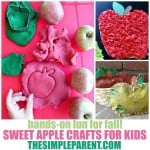10 Sweet Apple Crafts for Kids