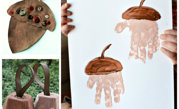 15 Adorable Acorn Crafts for Kids
