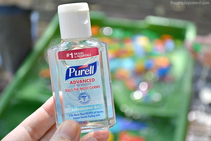 Keep your kids healthy and happy with backpack essentials for back to school! And take the PURELL 30-Day Challenge with us!