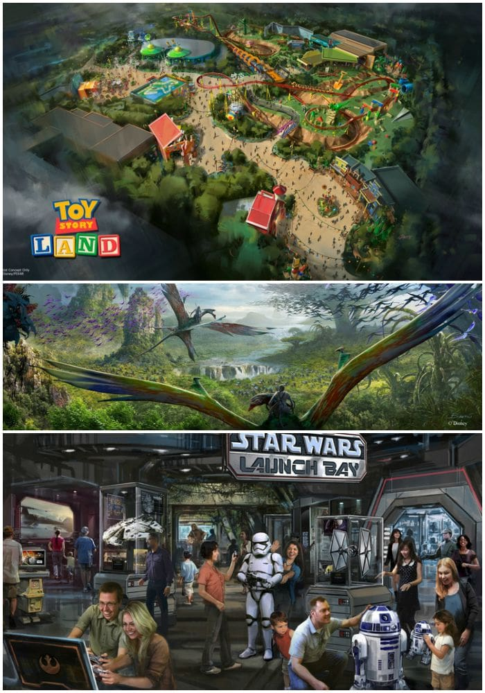 D23 Expo 2015 Parks And Resorts Toy Story Land Star Wars