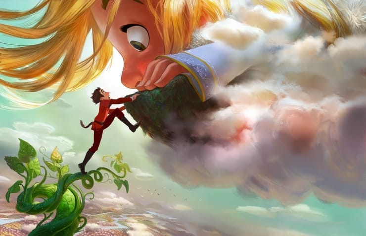 Disney's Gigantic his theaters in 2018! It's a take on the classic tale of Jack and the Beanstalk!