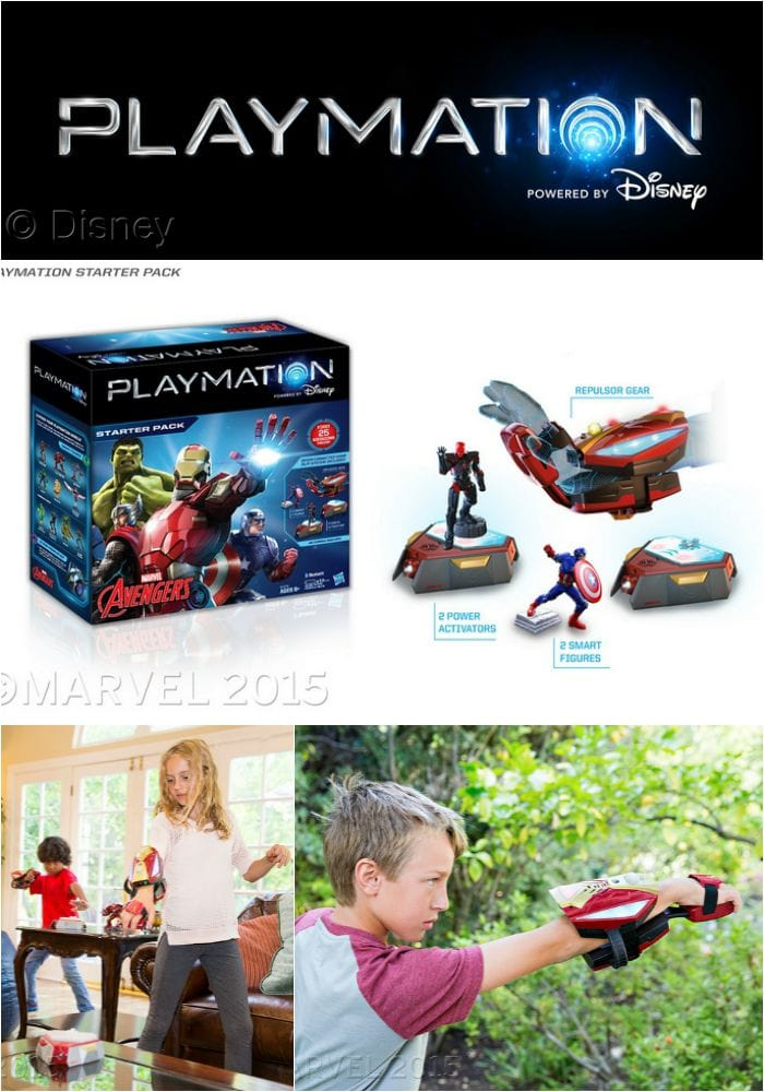 Disney Playmation brings the world of Marvel's Avengers to life with wearable technology that promotes active play!