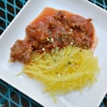 "Easy Family Dinners: ""Spaghetti"" with Meat Sauce"