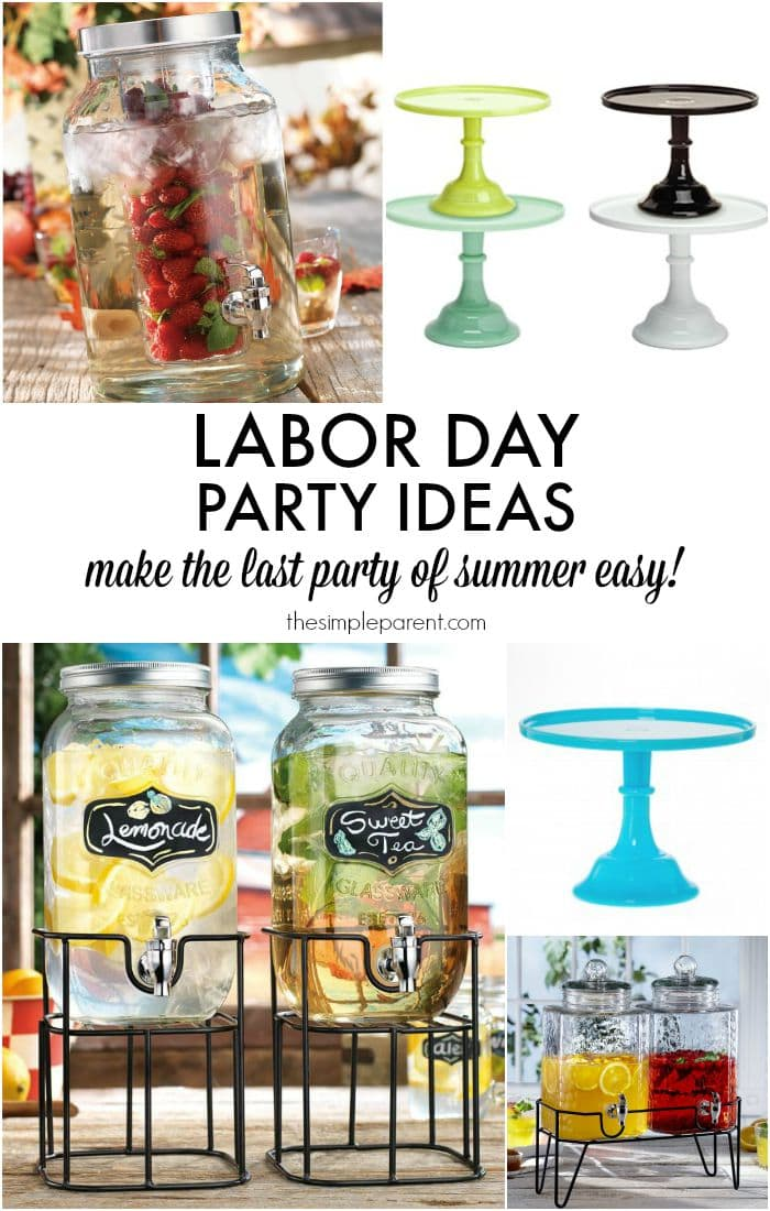 Easy Labor Day Party Ideas • The Simple Parent