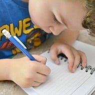 Handwriting Tips for Kindergarten