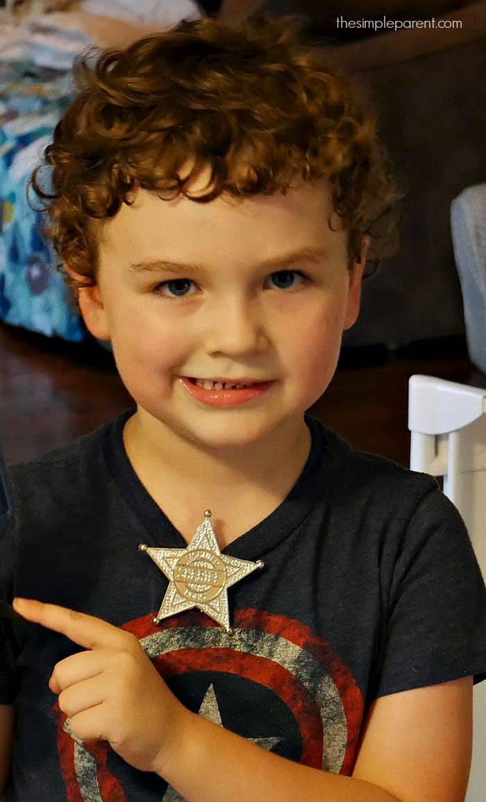 Sheriff Weston eats Lone Star eggs