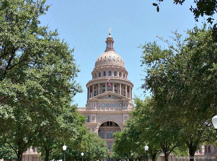 Visiting the Texas State Capitol in Austin, Texas was a great family trip! Lots of learning and exploring in this family friendly travel destination!