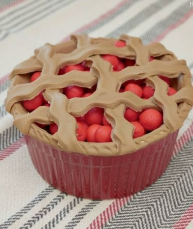Celebrate World Play Doh Day with Grambo's Play Doh Cherry Pie!