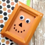 Easy Pumpkin Craft Frame