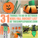 Fall Kids Bucket List: 31 Things to Do in October