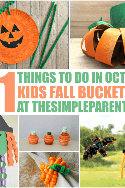 Our Kids Bucket List continues to grow this year with 31 Things to Do in October with the kids! This fun list of kid friendly activities will keep you busy all month long!