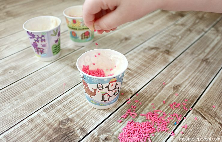 This paper cup cake recipe is a great way to get kids in the kitchen baking safely! It tastes great too! It's a super easy cupcake recipe that's perfect for a celebrating anything!