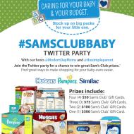 Recap of the #SamsClubBaby Twitter Party