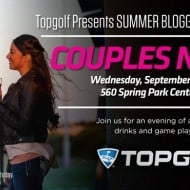 Join Me for Topgolf Spring Couples Night!