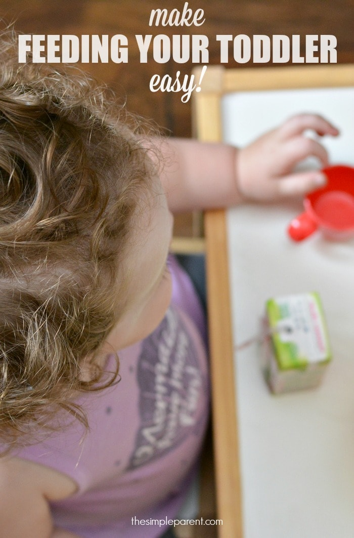 Toddler feeding can be challenging but you can make it easier with a little help!
