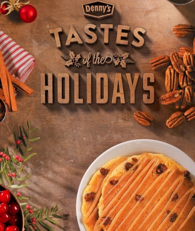 Fall is here and the holidays are right around the corner! Denny's Holiday menu is in restaurants for a limited time!