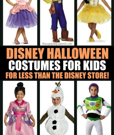 60+ Disney Halloween Costumes for Kids!