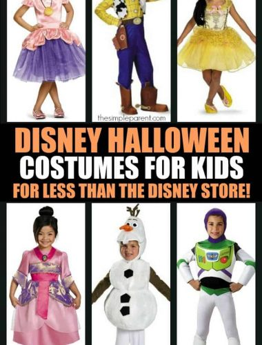Disney Halloween Costumes are always popular with the kids! Save money on your Disney Halloween costumes this year by checking out Amazon rather than hitting the Disney store!