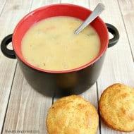 Easy Dinner Recipes: Baked Potato Soup & Cornbread